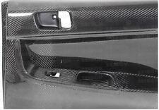 Seibon Carbon Fibre Rear Door Panels for a 2008-2010 Mitsubishi Lancer EVO X