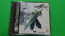 Final Fantasy VII (Sony PlayStation 1, 1997) Black Label