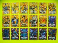 Auswahl Lego Nexo Knights Serie 2 Trading Card Game Limitierte Karten Neu