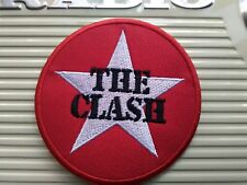 THE CLASH WOVEN SEW OR IRON ON PATCH
