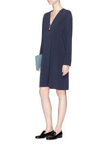VINCE  V-Neck Tunic Dress Size M 670$