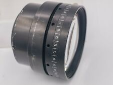 Vintage - 155mm F0.8 Fast X-Ray Lens For Camera Adaptation - Covers Approx. 4x5