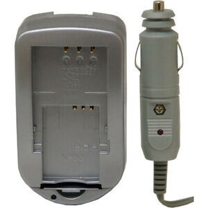 Vivitar Digital Concepts AC/DC Battery Charger for Fuji and Pentax Lithium Batte