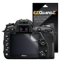 4X EZguardz New Screen Protector Cover HD 4X For Nikon D7500