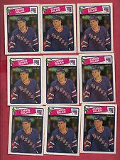 9 X 1988-89 OPC # 31 RANGERS CHRIS NILAN  CARD