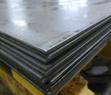 STEEL SHEET/PLATE 4mm THICK - VARIOUS SIZES AVAILABLE