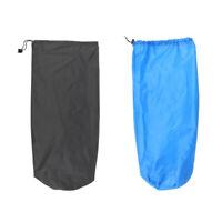 2pcs Waterproof Drawstring Stuff Sack Storage Bag for Travel Camping Hiking