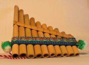 Pan Flute Antara Bamboo 10 Pipe BEST DEAL Top Selling Siku Flauta
