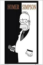 The Simpsons : Homer Scarface - Maxi Poster 61cm x 91.5cm (neu & ovp)