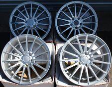 """18"""" Ruedas de aleación de múltiples de Plata se Ajusta BMW 5 6 7 E34 E39 E60 E61 E63 E64 E38 M12"""