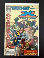 SPIDER-MAN AND X-FACTOR SHADOWGAMES #2 MARVEL COMICS 1994 VF+