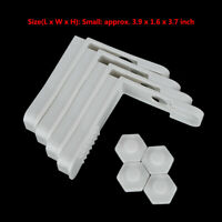4Pcs Easy to Install Bed Sheet Clips Grippers Mattress Cover Holder Fasteners US