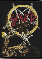 SLAYER -   Limited edition patch  - WOVEN SEW ON PATCH - free shipping