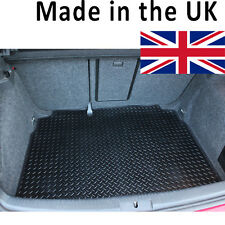 Kia Rio MK II 2005-2010 (5 Door Only) Fully Tailored Black Rubber Car Boot Mat