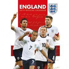 England National Team 2014 Calendar Football Soccer new Three Lions FA