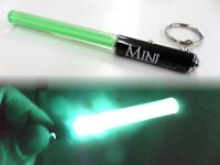 Pocket Star Wars Light Sabers Jedi GREEN Keyring Torch Party Multi Mini LED Gift