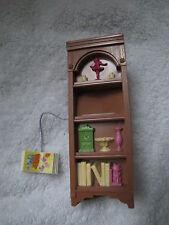 FISHER PRICE Loving Family Dollhouse CORNER CABINET Bookcase BOOKSHELF BOOK