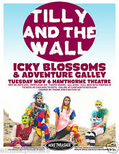 Tilly & The Wall 2012 Portland Concert Tour Poster - Indie Pop Music