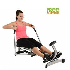 Rowing Machine Folding Fitness Cardio Exercise Workout Training Body Sturdy New!