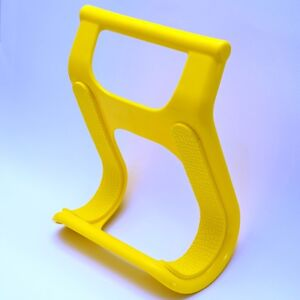 Carry surfboards The Surf Claw ideal surfboard carrier (yellow)