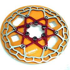 Red gobike88 ASHIMA Disc Rotor Screws // Bolts M5x10mm 140//160//180//203mm S25
