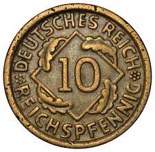 Germany Weimar 10 Reich Pfennig 1935 A coin KM#40
