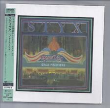 STYX Paradise Theater JAPAN mini lp cd Platinum SHM cd box UICY-40060 NEW