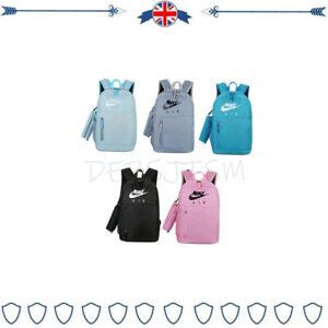 New Rucksack Bag Sportswear Gym Travel School Trip Girls Boys Case Work Bag
