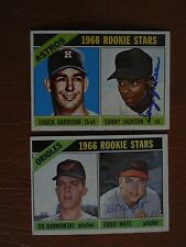 1966 Topps #442, Baltimore Orioles Rookie Stars, signed by Eddie Watt