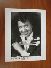 Vintage Glossy Press Photo Vibraphonist Cecilia Smith, Dark Triumph, Carmen #1