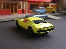 Corgi Toys Whizzwheels 342 Lamborghini P400GT Muira yellow with original bull