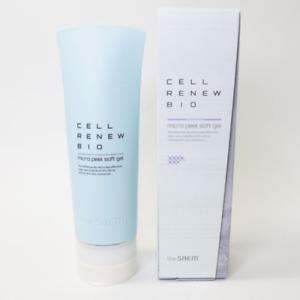 The SAEM Cell Renew Bio Micro Peel Soft Gel 160ml Peeling Cleansing K-Beauty
