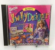 Barbie Software for girls Activity Jewelry Designer CD-ROM PC Game Windows 95