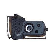 Pyle PDWR30B 3.5'' Indoor/Outdoor Waterproof Speakers (Black) (Pair)