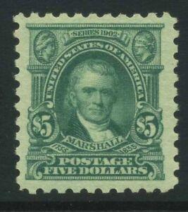 US Sc480 1917 $5 Mint NH Cat $375