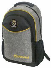 Richmond Tigers AFL Football Stealth School Backpack Bag