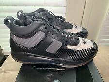 Nike Lebron X John Elliott JE Icon QS Mens Size 11 Shoes Black Grey AQ0114 001