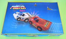 Vintage 80's Greek Toy Luna Park POINTER 360 Race Cars Pyroplast Ultra Rare Box!
