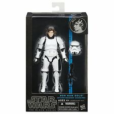 "STAR WARS BLACK SERIES - HAN SOLO STORMTROOPER DISGUISE 6"" MISB new"