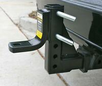 """5000lbs Adjustable Ball Mount RV Truck Car Trailer Hitch Tow 2"""" Receiver Towing"""