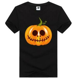Mens Boo! Bees Printed T Shirt Short Sleeve Crew Neck Halloween Party Top