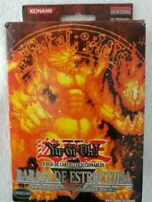 SPANISH Yugioh Blaze Of Destruction Theme Deck Card Game open box sealed pack