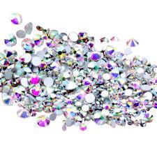 Kristall Nagel Glitzersteine Nicht-Hotfix Glas Straßsteine Nail-Art Dekoration