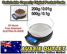 Switchable Capacity Digital Pocket Scale - Stock in Australia