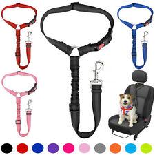More details for pet dog travel seat belt clip lead for car safety restraint harnesses anti shock