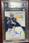 2015 Tom Brady Immaculate Ink Gold #/5 Auto On Card Autograph BGS 9 PMJS