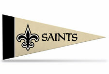 "New NFL New Orleans Saints Mini Pennant  9""x4""(22 x 9 1/2cm) Made in USA Banner"