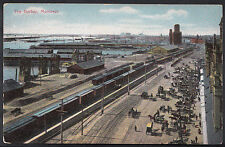 Canada Postcard - The Harbor, Montreal    A9603
