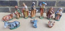 Vintage Italy Nativity Figures