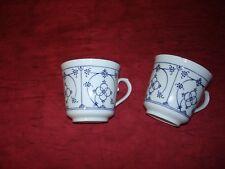 Kaffeetassen, 2 Stück, Form Marienbad Ingres weiss, ohne Untertasse, gebraucht,